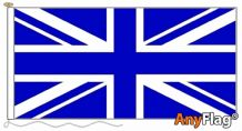 UNION JACK ROYAL BLUE  ANYFLAG RANGE - VARIOUS SIZES